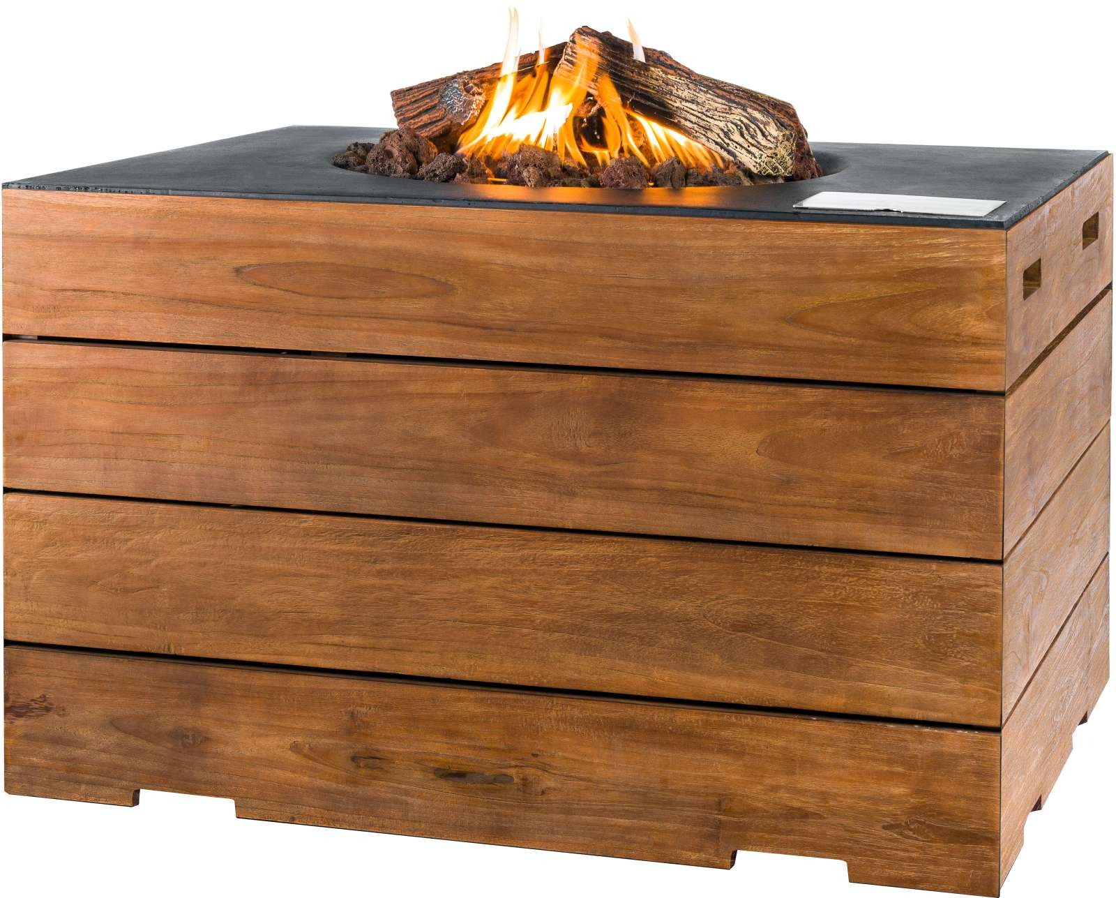 kaminwunder online shop angolo grande teak gartenfeuer gaskamin garten outdoor feuer tisch. Black Bedroom Furniture Sets. Home Design Ideas